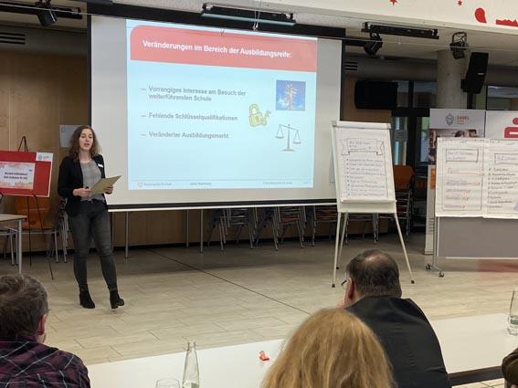 Vortrag bei der Netzwerkveranstaltung an den SABEL Schulen Nürnberg